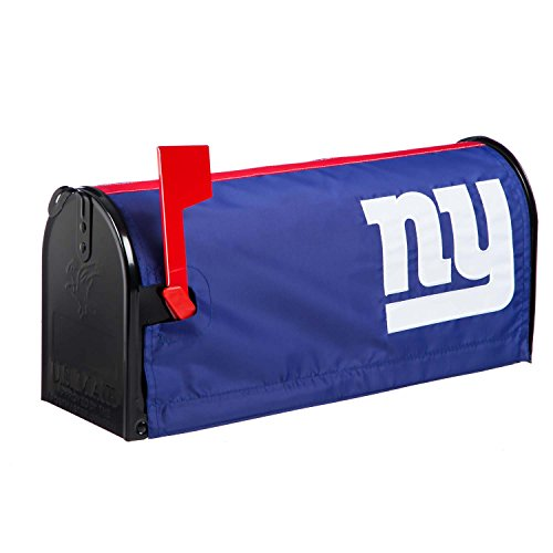 Team Sports America NFL New York Giants 2MBC3820New York Giants, Mailbox Cover, Blue