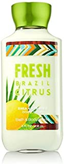 Bath and Body Works Signature Lotion Fresh Brazil Citrus 8 Ounce Full Size