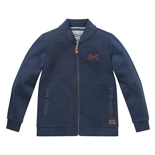 TWINLIFE jongens Boys sweatjas jas sweater vest blauw