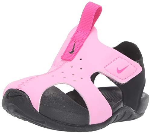 Nike Sunray Protect 2 (TD), Sandalias Bebé Unisex, (Psychic Pink/Laser Fuchsia/Black 602), 22 EU