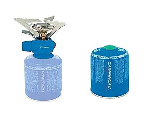 Altigasi Campingaz Twister® Plus PZ Réchaud à gaz, à allumage piézoélectrique, 2900 W, 263 g, avec 1 cartouche de gaz CV470 de 450 g incluse