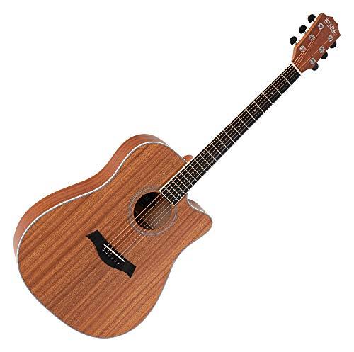 Rocktile WSDN-410S Guitarra western en sapeli