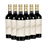 Yllera | Vino Tinto Crianza Jesús Yllera | Pack de 6 uds | Tempranillo, Cabernet Sauvignon y Merlot | 75 cl | D.O Ribera de Duero | Aroma de Frutas Negras Maduras | Añada 2015 | Vino Español