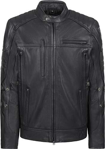 John Doe Lederjacke | Lederjacke zum Motorradfahren | Echtleder | Rockige Lederjacke mit Reißverschluss | Schützt vor Wind und Kälte