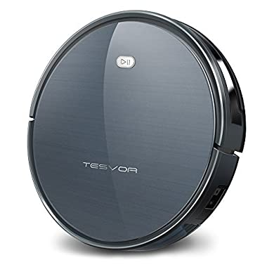 Tesvor Robot Vacuum Cleaner with Plan Cleaning, 1500Pa Max Suction (2nd Gen: Upgraded Recharging & Carpet Performance) X500 Navigation Robotic Vacuum for Pets, Clean Hard Floors and Low-pile Carpets