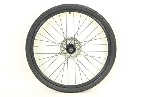 26 inch Alloy Rear Wheel ATB Bike Bicycle For Cassette WITH Disc Rotor and 26 x 2.0 Kendra Kobra Tire and Tube