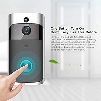 hreway Home Wireless Remote Monitoring Real-Time Two-Way Talk Video Doorbell Remote Home Monitoring Systems