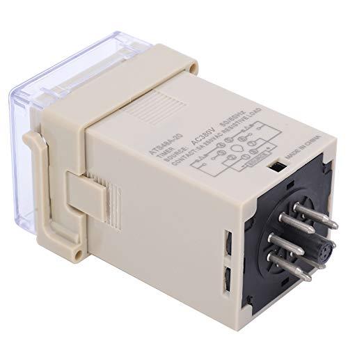 Automatización industrial Modo de control flexible Pantalla digital LED Relé de tiempo Relé de tiempo de retardo de ciclo Fuerte rendimiento antiinterferente para el(AC380V)