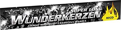 FKW Keller 100 Wunderkerzen 30cm Brennzeit ca. 60 Sekunden - 10 Packungen a 10 Stück