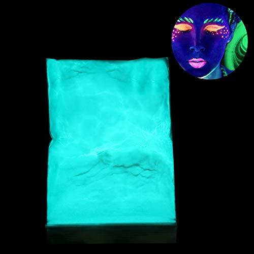 Fluorescerend poeder, 3 kleuren fluorescerend poeder kleur DIY pigment nagel coating 's nachts oplichtend poeder blauw, groen