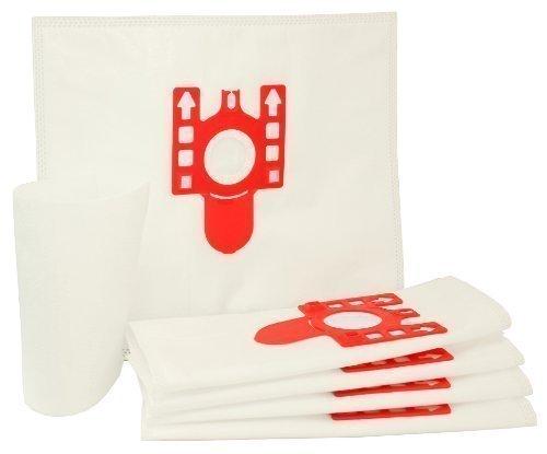 First4spares FJM Sacchetti di Tessuto per Aspirapolvere + Filtro per Modelli Miele (Pacco da 5)