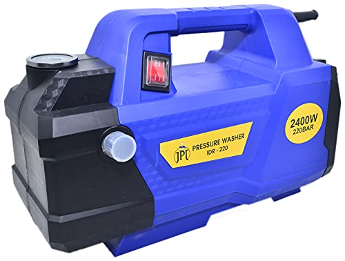 JPT 220 Bar 2400 Watt Heavy Car High-Pressure Washer Induction Type with Extension Rod with JPT Foam Lance