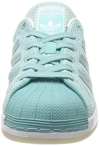adidas Superstar Bounce W, Zapatillas Mujer, Turquesa Easmin Easmin Ftwwht, 38 EU
