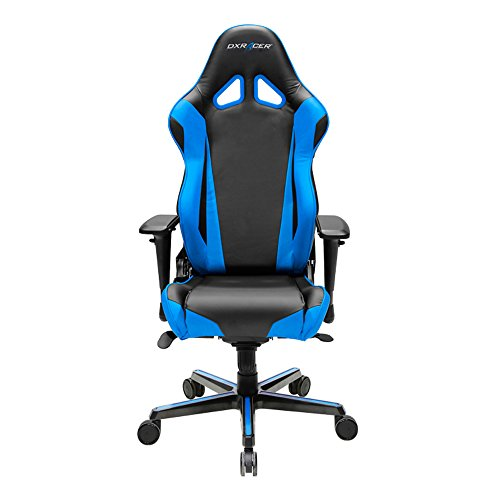 DXRacer Racing Series OH/RV001/NB Office Gaming Chair blue chair gaming