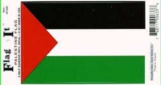 Flag It Palestine Heavy Duty Vinyl Bumper Sticker (3 x 5 Inches)