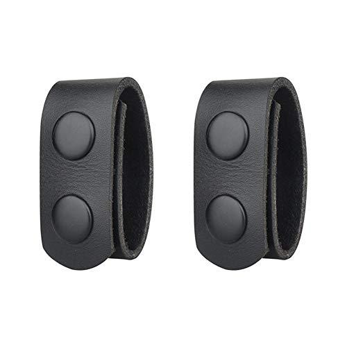 Ceinture de sécurité tactique avec 2 boutons-pression en nylon - Support de ceinture réglable de sécurité - Équipement militaire réglable pour l'extérieur Lot de 2