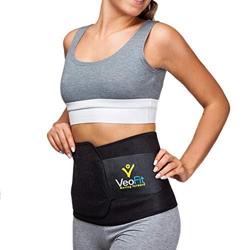 VEOFIT Cinturón Abdominal de Sudoración: Cinturón adelgazante para Hombre y Mujer/ Efecto adelgazante – Tonifica y ayuda a eliminar el exceso de agua para conseguir un vientre plano