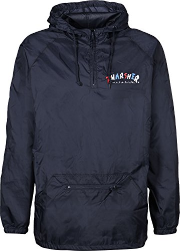Thrasher Knock Off Anorak Jacket Navy