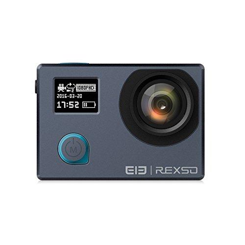 Elephone Action Cam REXSO Explorer 4K 30fps Impermeabile IP68 WIFI Sport Action Camera Full HD 16MP 170°Grandangolare con il schermo LCD 2.0 Pollici