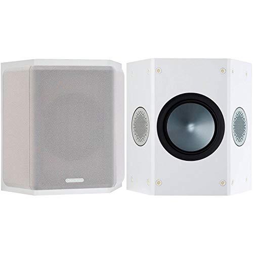 Monitor Audio Bronze FX 6G | Farbe: Weiß | Surround-Lautprecher | Paar | Heimkino | 2-Wege | 8 Ohm | 80 Watt | Dipol/Bipol | Geschlossenes Gehäuse | Passiv
