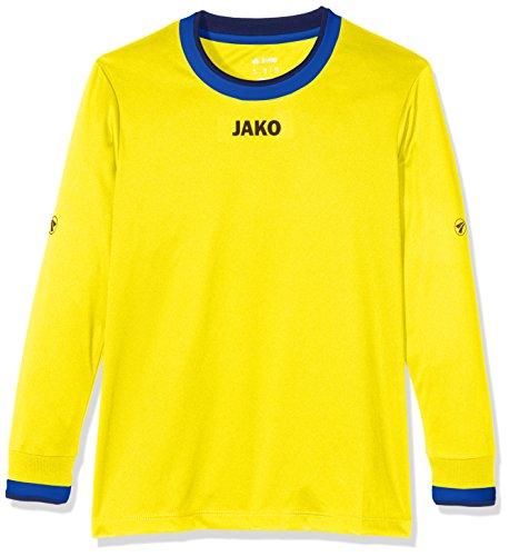 JAKO Kinder Fußballtrikots LA Trikot United, Citro/Royal/Marine, 164