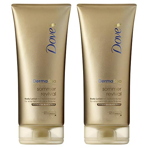 DOVE Body Lotion dunkel (2 x 0.2 l)
