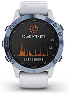 Garmin fēnix 6 Pro Solar, multisport GPS-horloge op zonne-energie, geavanceerde trainingsfuncties en gegevens 010-02410-19