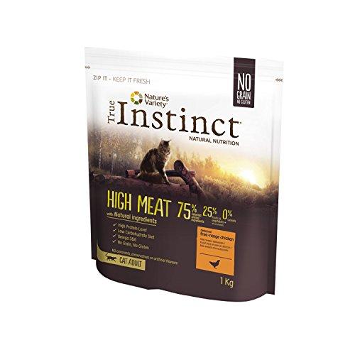 True Instinct High Meat Adult - Nature's Variety - Pienso para Gato Adulto con Pollo deshuesado - 1kg ✅