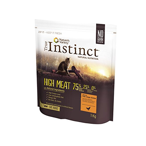True Instinct High Meat Adult - Nature's Variety - Pienso para Gato Adulto con Pollo deshuesado - 1kg
