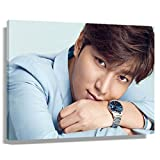 Lee Minho The Heirs Poster Living Room Decor Pictures for Bedroom Print Canvas Fashion Artwork for Walls Home Christmas Decorations Rectangular Paintings for Bathroom Giclee Gallery Print (30x45cm(12x18inch),Unframed)