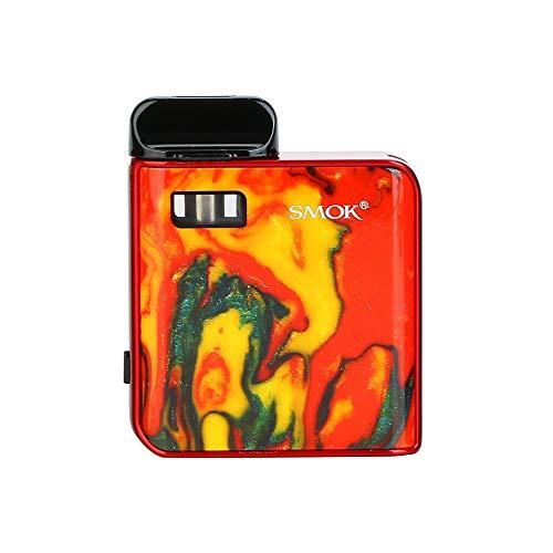 Smok Mico Kit Portable Batería de 700 ohmios del kit de pod de 1,7 ohmios con llavero BTKSY Sin nicotina, sin aceite de humo (red)