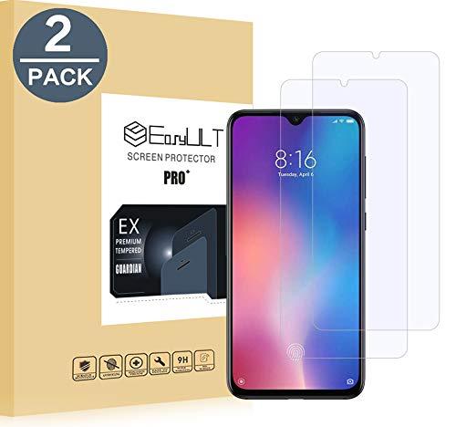 EasyULT Vetro Temperato Compatibile con Xiaomi Mi 9 SE [2 Pezzi], Pellicola Protettiva in Vetro Temperato Screen Protector per Xiaomi Mi 9 SE