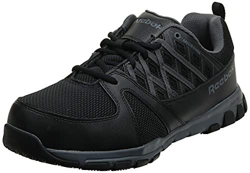 Reebok Sublite Work Hombre US 10 Negro Zapato de Trabaja