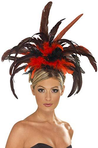 Smiffys Bandeau burlesque, avec plumes Unique
