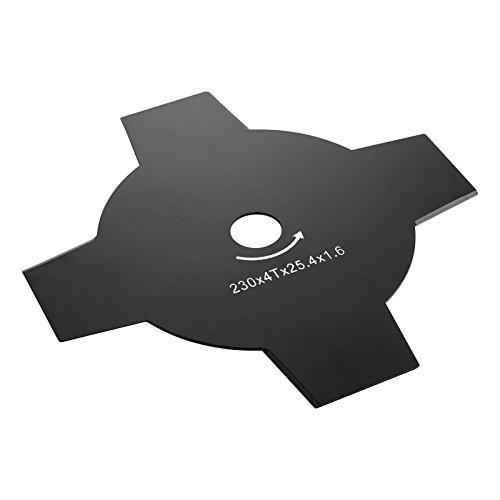 Dewalt DT20655-QZ Cuchillas 4T 230mm – para Hierba Seca, áspera y cañas. para desbrozadora DCM571