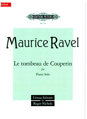 Tombeau de Couperin Piano PDF Books