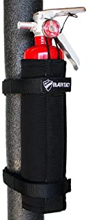Bartact 2.5 Lb Roll Bar Fire Extinguisher Holder - Steel Brackets - Black