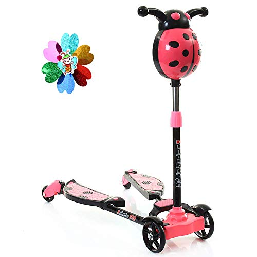 Buy Bargain PLLP Outdoor Sports Scooter Kick,Adjustable Toddler for 80Kg Load, Pu 4 Wheel Kick with ...
