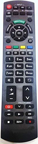 Ersatz Fernbedienung für Panasonic N2QAYB000328 Fernseher TV Remote Control / 045 / Neu
