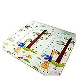 LIANMIBA Alfombra Espesar 1 cm Play Mat Toys para niños Alfombra Playmat Desarrollo Mat Sale Room Cadera Cadera Carrera Plegable Mat Alfombra Regalo Suave (Color : Green, Size : 180cmX150cmX1cm)