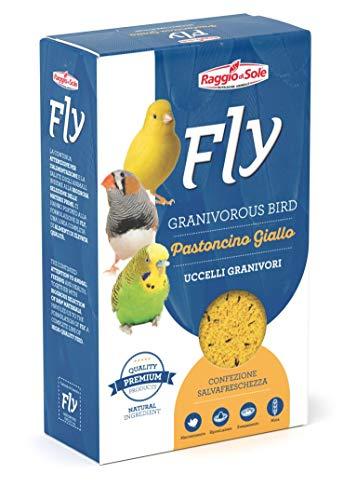 Raggio di Sole Fly Pastoncino Giallo Per Uccelli Granivori