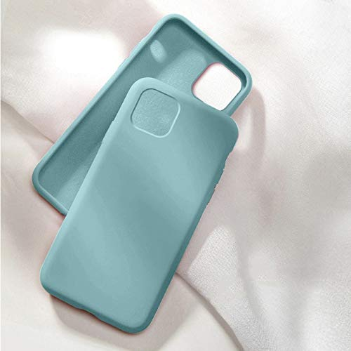 TONGTONG With Box Original - Carcasa de silicona líquida para iPhone 12, 11 Pro, Xs, Max Xr X, para iPhone 7, 8 Plus, 6, 6S, Se 2020 y 12 Pro