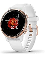 Garmin Uniseks Smartwatch, voor volwassenen, wit, maat