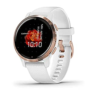 Garmin Venu 2S, GPS Fitness Smartwatch, Rose Gold Stainless Steel Bezel with White Band (B091ZZJSY9) | Amazon price tracker / tracking, Amazon price history charts, Amazon price watches, Amazon price drop alerts
