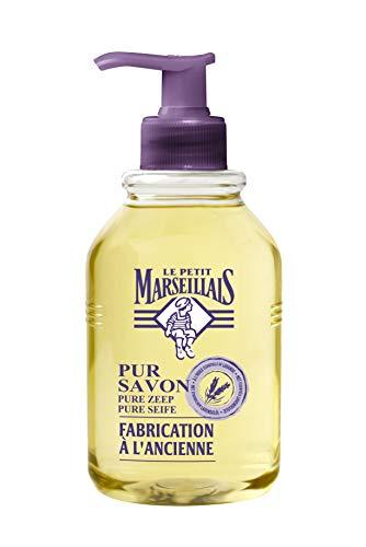 Le Petit Marseillais Flüssigseife Pur Savon, pflegende Handseife flüssig mit ätherischem Lavendelöl (1 x 300 ml)