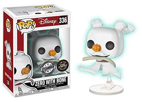 Funko Disney: Zero with Bone #336 [Glow in The Dark Chase!] - BoxLunch Exclusive!