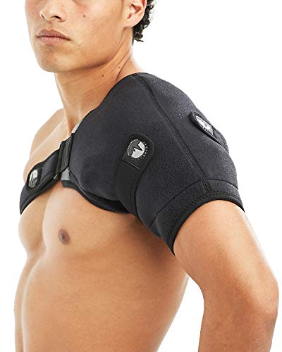 ActiveWrap Shoulder Ice Pack Wrap With Two Reusable Hot & Cold Packs - Rotator Cuff Ice Therapy - Large/X-Large