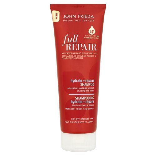 John Frieda Full Repair Rescue, feuchtigkeitsspendendes Shampoo, 250ml