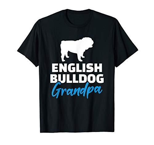 Englische Bulldogge Opa T-Shirt