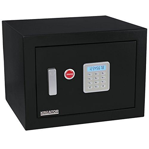 KREATOR KRT692030 - Caja fuerte electrónica 330x450x395mm...
